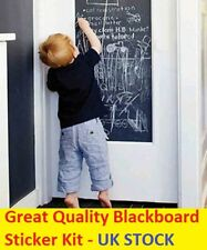 45x200 Vinyl Blackboard Wall Sticker Removable Self Adhesive Chalkboard 5 Chalks