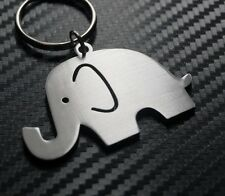 ELEPHANT Mammal Animal African Asian Zoo Cute Keyring Keychain Key Fob