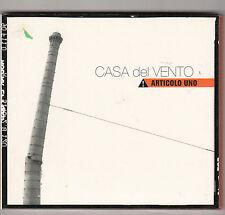 CASA DEL VENTO - articolo uno CD