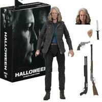 "Halloween Laurie Strode Ultimate Scale Action 7"" Figure 1:12 Jamie Lee Curtis 12"