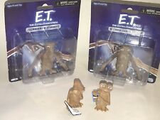 E.T. The Extra Terrestrial FIGURES LOT NECA Geoffrey 2002 Bendable See & Say PVC