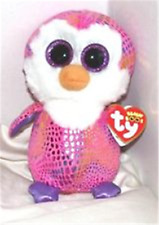 Ty Beanie Boo Boos Patty The Penguin Justice Excl. Mwmt Ih 6 Inches
