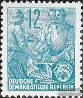 DDR (RDA) 410Y I examinado, de pie marca de agua nuevo con goma original 1953 pl