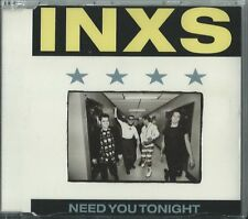 INXS - NEED YOU TONIGHT (MENDELSOHN MIX) 1988 UK 4 TRACK CD SINGLE INXCD12