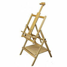 Loxley ESSEX Wooden Fully Adjustable Artists Studio Painting Easel with Shelf