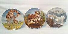 Knowles Yin-Rei Hicks 3 Collector Plates Signs Of Love Collection