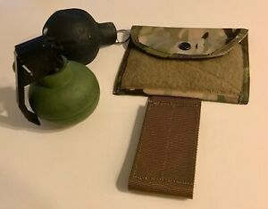CAG-style inverted frag grenade pouch in Crye 330d multicam Delta Force/SFOD-D