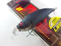 Megabass - IXI SHAD TYPE-R 57mm 1/4oz. #22 BLACK HOLE