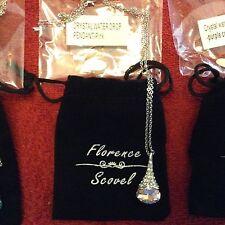 Florence Scovel crystal water drop pendant - Pink