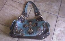Blazin Roxy Purse Handbag Teal Green