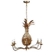 "Pineapple Chandelier 26""x21"" - 43061"