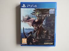 Monster Hunter: World for PS4 in MINT Condition