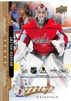 18/19 UPPER DECK MVP PUZZLE BACK #145 BRADEN HOLTBY CAPITALS *53806