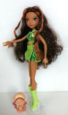 Layla Magic Winx Club + Pixie Piff 1st Edition Wimpern Rainbow Mattel RAR
