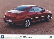 PRESS - FOTO/PHOTO/PICTURE - PEUGEOT 307 CC Conceptcar 2002-A
