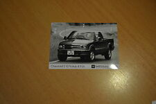 PHOTO DE PRESSE ( PRESS PHOTO ) Chevrolet S 10 Pick-up 4.3 de 1996 GM096