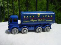 RARE LESNEY MATCHBOX SERIES 10 TATE & LYLE SUGAR TRUCK w/ GPW MINT + ORG D BOX!
