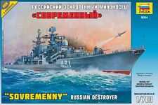 ZVEZDA 9054 RUSSIAN DESTROYER SOVREMENNY SCALE MODEL KIT 1/700 NEW