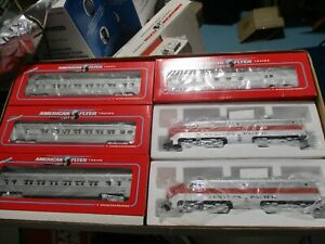 American Flyer LTI 6-49604 Western Pacific Pass set (3/29/21 #1)