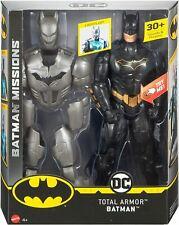 Mattel DC Deluxe BATMAN TOTAL ARMO™ Batman Missions™ Figure (FYY22)