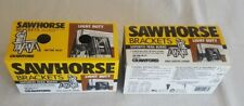 New listing Crawford Light Duty Sawhorse Brackets,No.87,Two Pairs,New In Box