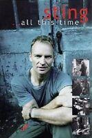 """STING """"ALL THIS TIME"""" DVD NEU"""