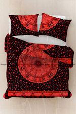 Indian cotton zodiac mandala duvet doona cover comforter bedding quilt cover set