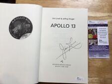 "(SSG) JIM LOVELL NASA Astronaut Signed Book ""Apollo 13"" - JSA (James Spence) COA"