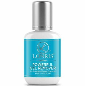 GLUE REMOVER Gel Eyelash Extension | Lonris Lash Dissolve in 60 Seconds | 15 ML