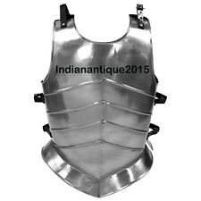 Armor Medieval Steel Body Armor Reenactment Muscle Jacket Cuirass Leather Strap