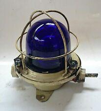Maritime Salvaged Passageway Bulkhead Light Mount Lamp Vintage Russian Nautical