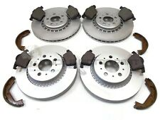 VOLVO XC 90 XC90 FRONT & REAR BRAKE DISCS AND PADS & HANDBRAKE SHOES CHECK SIZE