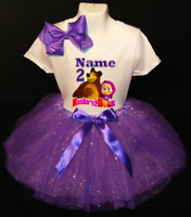 Baby Moana Birthday +NAME+ 3rd Third 3 birthday party Shirt  Personalized  2 Pc Tutu outfit Pink Fast shipping