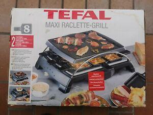 Tefal Raclette Grill Gourmet Set elektrisch 8 Pfännchen 8 Personen neu in OVP