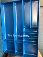ABS Plastic Parts Tool Storage Tray Organiser 280mm x 405mm Slots And Holder