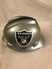 Oakland Raiders Construction Safety Helmet Hard Hat Adult Medium MSA