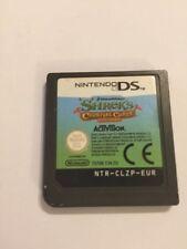 Nintendo DS NDS DSL NDSL DSi XL cartuccia di giochi solo SHREK's Carnival Craze