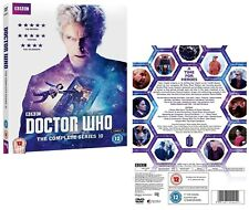 DR WHO 2017 10 COMPLETE + 2016 Christmas  Doctor Peter Capaldi NEW UK DVD not US