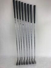 Wilson 1200 GE  Radius Sole Iron Set 3-PW Gear Effect S Flex  Steel Rare Find