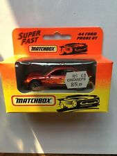 1993 Matchbox Superfast 44 Ford Probe GT New Boxed