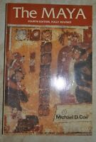 MICHAEL D. COE - THE MAYA - FOURTH EDITION FULLY REVISED - ANNO: 1987 (A3)