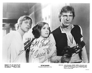 Carrie Fisher Leia Star Wars Signed Autograph 8 x 10 Photo PSA DNA j2f1c *27