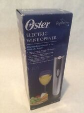 New OSTER 4207 Electric Cordless & Rechargeable Wine Bottle Opener New in Box