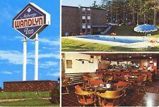 Wandlyn Inn Kentville  NS Nova Scotia Auberge Vintage Multi-View Postcard D9