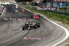 Mario Andretti JPS Lotus 79 Swedish Grand Prix 1978 Photograph 2