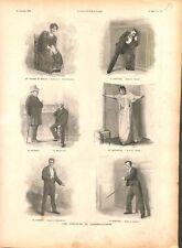 Conservatoire national supérieur de musique et de danse de Paris  GRAVURE 1894