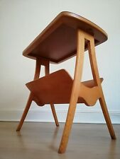 60er Jahre Zeitungsständer Beistelltisch Mid Century ILSE no 1272 Danish Design