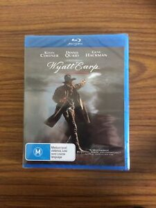 "Wyatt Earp. ""Blu-ray"" , Brand New.  Starring - Costner , Quaid and Hackman."