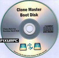 CLONE MASTER BOOT DISK,THE BEST HARD DRIVE CLONE SUITE, includes Bonus Software