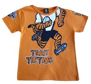 NRL Wests Tigers Mascot Baby & Toddler T-Shirt - Size 1 **SALE PRICE**